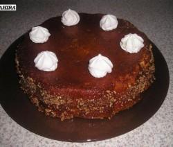 Banaan caramel cake
