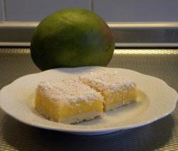 Citroen mango slices