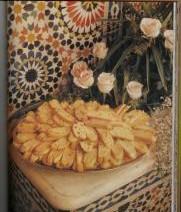Feqqas met gekonfijte fruit