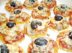 Mini pizzatjes
